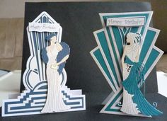 Glitz and Glam and art deco dies