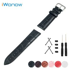 >> Click to Buy << Genuine Leather Watch Band 24mm for Suunto Core Stainless Steel Pin Buckle Strap Wrist Belt Bracelet + Lug Adapter + Tool #Affiliate