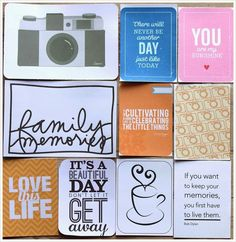DIY: Eigne pyntekort til Project Life Love Days, Beautiful Love, Project Life, You Got This, Ornament, Scrapbooking, Projects, Diy, Log Projects