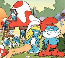 The Smurfs - another favorite! I was Smurfette for halloween when I was four!