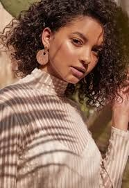 Shop trendy statement earrings - DELIGHT.LY store  etsy.com/shop/DelightlyShop Wood Earrings, Pearl Earrings, Statement Earrings, Etsy Store, Fashion Brands, Jewelry Design, Model, Shop, Pearl Studs