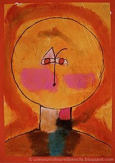 Use Your Coloured Pencils: Paul Klee Style Portraits