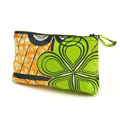 Lime Makeup Bag by All Across Africa
