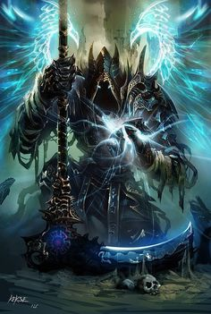 swords and blades fantasy angels and demons and neko Dark Fantasy Art, Fantasy Artwork, Fantasy World, Dark Art, Demon Artwork, Fantasy Rpg, Fantasy Warrior, Angel Warrior, Fantasy Character Design