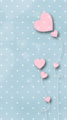 Download this lovely Pink hearts wallpapers for vintage lovers! http://m9.my/go/am =)