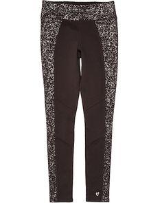 8cb844205d3d7 COLORBLOCK FULL LENGTH LEGGING BLACK Betsey Johnson Dresses, Gym Wear, Shoe  Sale, Black