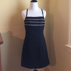 Gone today! Byer Too! Dress Black dress with white piping. Byer Too! Dresses