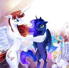 Lauren Faust, Luna & Celestia, My Little Pony