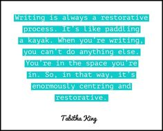 Quotable – Tabitha King – Writers Write