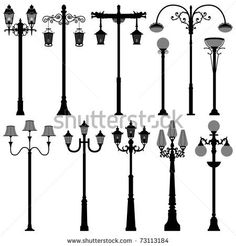 Find Lamp Post Lamppost Street Road Light stock images in HD and millions of other royalty-free stock photos, illustrations and vectors in the Shutterstock collection. Thousands of new, high-quality pictures added every day. Tree Pencil Sketch, Photo Lamp, Victorian Street, Victorian Architecture, Street Lamp, Silhouette Vector, Home Art, Poster, Prop Design