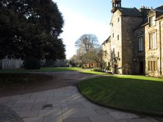 Inside St Mary's Quad where there is much to explore!