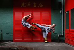 These Buddhist warrior monks excel at Kung Fu