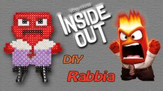 ANGER / RABBIA di Inside Out con Hama Beads - DIY Tutorial