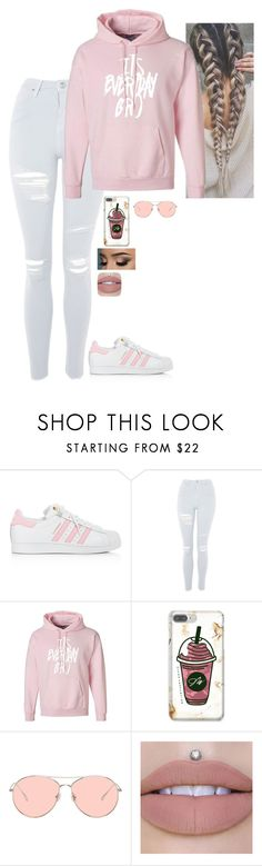 """Jake Paul Merch"" by emily-teigen on Polyvore featuring adidas, Topshop and Gentle Monster"