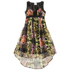 D-Signed Girls' Dress - Multicolor