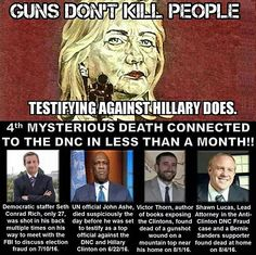 And yet... The MEDIA SAYS NOTHING!! And the FBI's AFRAID to investigate and PROSECUTE HER!!!!!!!!
