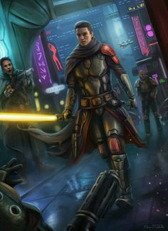 Star Wars - Jedi Artwork