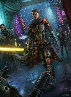 Star Wars - Jedi Artwork