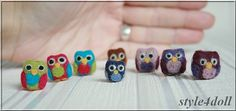 style4doll - the needle felted owl