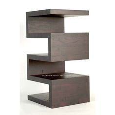 Bedside shelving/table- maybe with the bottom shelf as a drawer?