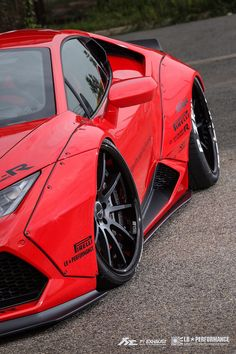 Liberty Walk Lamborghini Huracan LP610 with Fi Exhaust by Fi exhaust    	Via…