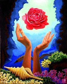 Messaggi, acrilico su cartone telato, 50x40 cm Rose Art, Roses, Painting, Art, Atelier, Pink Art, Pink, Rose, Painting Art