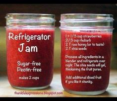 Clean eats Jam!!!  Gotta do this, chai seeds are amazing!