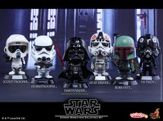 Hot Toys Star Wars Cosbaby Bobble-head Collectible Set Coming Soon