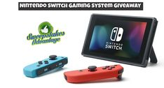 Win a Nintendo Switch Gaming Console from Sweepstakes Advantage!  More #sweepstakes @SweepsAdvantage.
