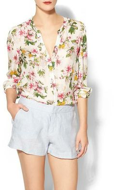 Joie Divitri Silk Top on shopstyle.com