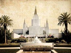 LDS Temple Pictures: LDS Oakland California Temple