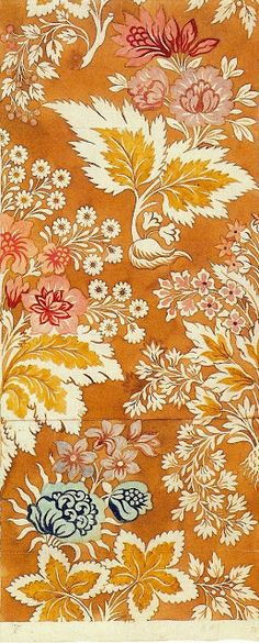 Silk design by Anna Maria Garthwaite (ca. 1732).  Art Quill Studio.
