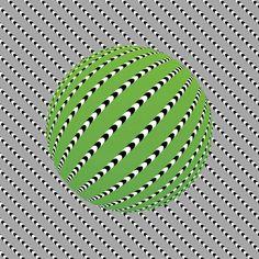 Une sélection des illusions d'optique hypnotisantes du japonais Akiyoshi Kitaoka, professeur de psychologie à l'Université Ritsumeikan de Kyoto, qui a imagi