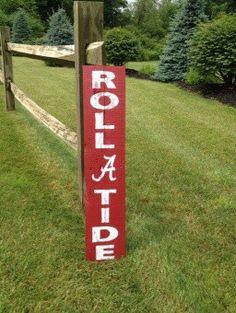 Alabama Roll Tide Sign