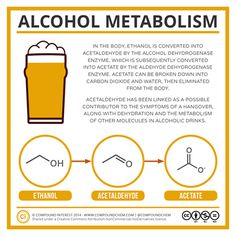 Chemistry of alcohol metabolism Más