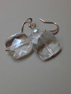 Natural Crystal Earrings