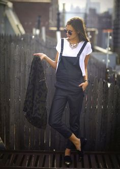 Dungarees... I can't help it I love overalls