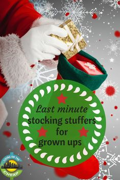 If you're sweating the fast approaching holidays go grab these last minute stocking stuffers for grown ups. If you're sweating the fast approaching holidays go grab these last minute stocking stuffers for grown ups. Top Christmas Toys, Frugal Christmas, Last Minute Christmas Gifts, Cheap Christmas, Handmade Christmas Gifts, Personalized Christmas Gifts, Best Christmas Gifts, Holiday Gifts, Christmas Stockings
