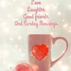 Sunday Morning Images, Good Sunday Morning, Good Morning Quotes For Him, Good Morning Video Songs, Morning Songs, Happy Birthday Ballons, Good Night Sister, Good Morning Wishes Friends, Inspiration Quotes