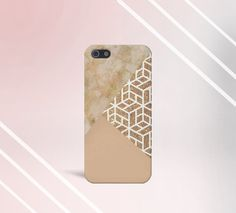 Marble x Gold x Cream Design Case for iPhone 5/5S, iPhone 5C, iPhone 4/4S, and Samsung Galaxy.