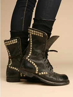 combat boots! obsessed.