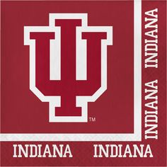 Indiana University 2 Ply Lunch Napkins/Case of 240 Tags: Indiana University; Lunch Napkins; Collegiate; Indiana University Lunch Napkins;Indiana University party tableware; https://www.ktsupply.com/products/32786326080/Indiana-University-2-Ply-Lunch-NapkinsCase-of-240.html