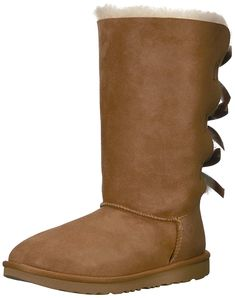 UGG Kids K Bailey Bow Tall II Pull-on Boot * More info could be found at the image url. (This is an affiliate link) Adidas Girls Shoes, Nike Shoes, Bearpaw Boots, Ugg Boots, Ugg Kids, Little Girl Shoes, Girls Dress Shoes, Jordans Girls, Bailey Bow