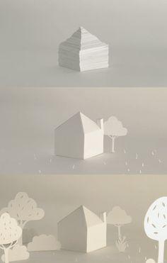 Paper animation by Hélène Ducrocq