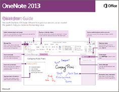 If you're new to OneNote this free guide offers useful tips to help you  find your way around.