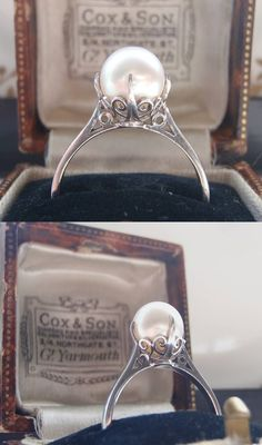 Rare+Vintage+Mikimoto+Pearl+and+Sterling+by+SweetHeirloomVintage,+$540.00
