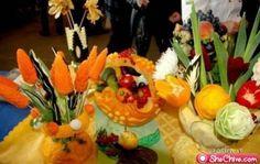 Beautiful Food Centerpiece