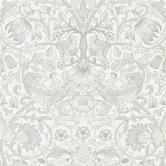 Pure Lodden tapeter från William Morris hos Engelska Tapetmagasinet. WM176-04 tapeter. ✓ Beställ fraktfritt online ✓ Snabb leverans