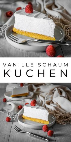 """Vanille Schaum Kuchen (Sampita) - """" The Effective Pictures We Offer You About trends news A quality picture can tell you many thin - Easy Smoothie Recipes, Easy Smoothies, Cinnamon Cream Cheese Frosting, Cinnamon Cream Cheeses, Coconut Smoothie, Coconut Recipes, Pumpkin Spice Cupcakes, Fall Desserts, Ice Cream Recipes"""