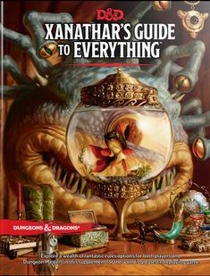 Explore a wealth of new rules options for both players and Dungeon Masters in this supplement for the world's greatest roleplaying game. The beholder Xanathar—Waterdeep's most infamous crime lord—is known to hoard information on friend and foe alike. The beholder catalogs lore about adventurers and ponders methods to thwart them. Its twisted mind imagines that it can eventually record everything!